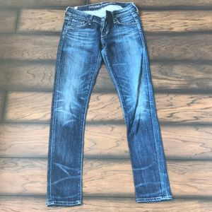 Citizens of Humanity. Sz 25, Low rise, skinny